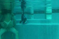 Afmoppen en berijden onder water