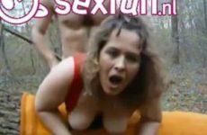 Buiten sex met zijn vrouw
